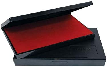 TRAXX Economy Stamp Pad 110 x 70 mm Red Ink