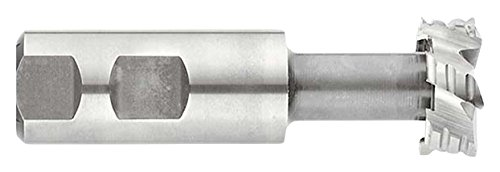 KEO Milling 16826 Model TS111 Shank-Type Roughing Cutter Cobalt TiAlN Coating 1 Shank Diameter 3-15//16 Length 6-Flute T-Slot Shank 1-1//4 Cutting Diameter