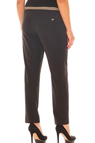 donna con Pantalone elegante sigaretta Ferroni a morbida Nero elastico taglia Carla aRwI1qH