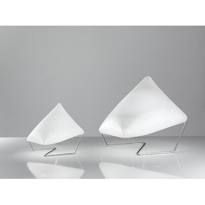 Zaneen Lighting D8-4250 Dreamy Small Table Lamp, White