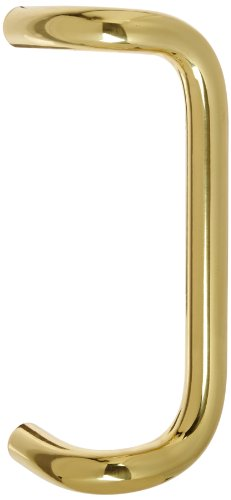 (Rockwood BF157A.3 Brass 90-Degree Offset Door Pull, 1