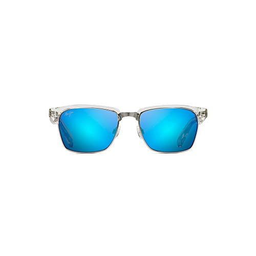 Outdoor Light Hookipa 1 - Maui Jim Kawika B257-05CR | Polarized Crystal Classic Frame Sunglasses, Patented PolarizedPlus2 Lens Technology