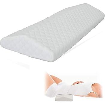 Cooling Gel Lumbar Pillow for Sleeping Memory Foam THICKEST 3