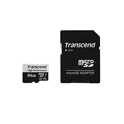 Transcend TS64GUSD330S 64GB UHS-I U3 Micro SD Memory Card