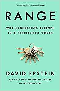 [By David Epstein] Range: Why Generalists Triumph in a Specialized World [2019]-[Hardcover] Best selling book for|Popular Developmental Psychology|