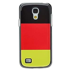 RC - German Flag Pattern Aluminum Hard Case for Samsung Galaxy S4 mini I9190