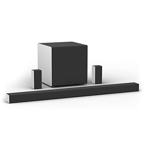 VIZIO SB46514-F6 46-Inch 5.1.4 Premium Home Theater Sound System with Dolby Atmos and Wireless Subwoofer Plus Rear Surround Speakers