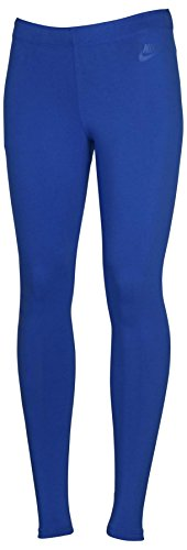 Nike Womens Leg-A-SeeTights Just Do It Print (Royal Blue, Small)