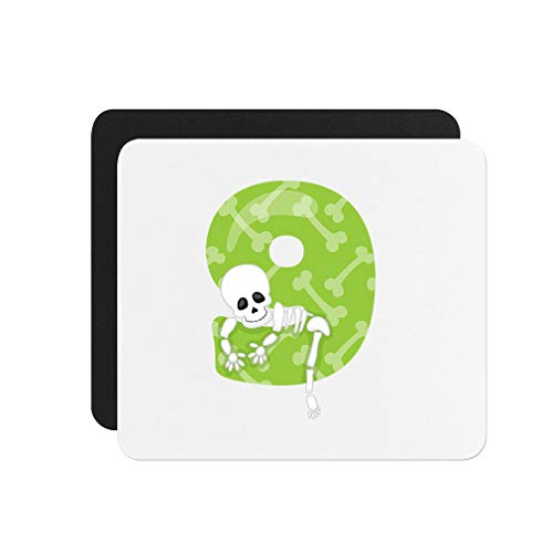 (Halloween Number Nine Neoprene Mouse Pad 9.25