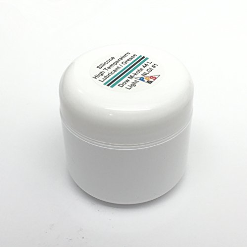 Dow Corning Molykote 44 Light Silicone High Temperature Bearing Grease Lube, Light NLGI #1 Consistency Grade, 57 g or 2 oz -  DC, DC44L57G