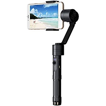 Zhiyun Smooth-II 3 Axis Handheld Gimbal Camera Mount for smart phones up to 7 screens, such as iPhone 7, 6 Plus, 6, 5S, 5C, Samsung S6, S5, S4, S3, Note 4, 3, and more (1-Year Warranty)""