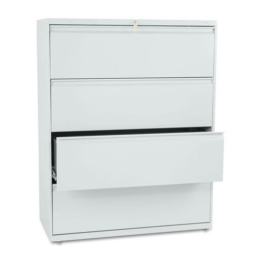 HON 800-Series Lateral File with Lock, 4 Drawers, 53