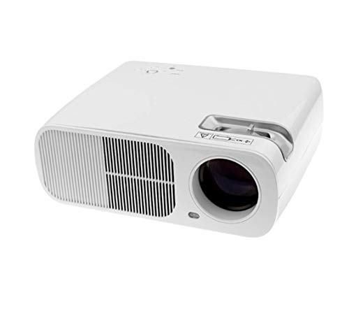 BL-20 Connected to A Computer TV Home Projector, Business Office Projector, Home Projector HD Home Intelligent Projector,Portable Video Projecto,White from WGWG