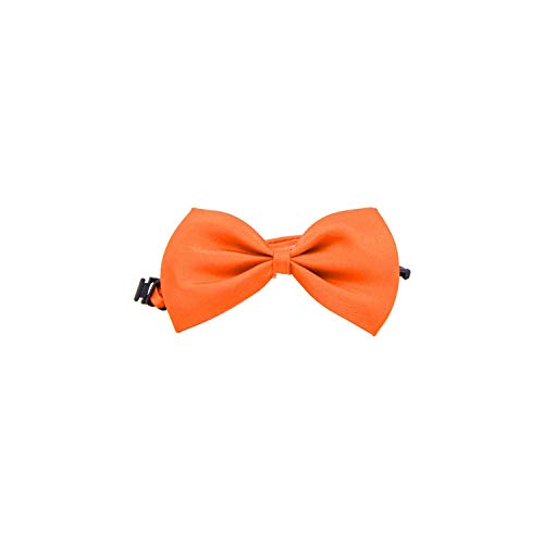 (Casual-Life Pet Supplies Dog Puppy Cat Kitten Pet Toy Kid Bow Tie Necktie Clothes Adjustable for Small Medium Dogs Pets Accessories,Orange)
