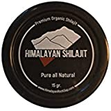 Himalayan Shilajit - HIGHEST GRADE SHILAJIT RESIN - OVER 80 MINERALS - ELEVATE YOUR LIFE - 1 Month Supply - (15g Silicone Jar with Stainless Spoon/Stir Stick)