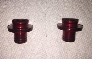 QR Thru Front End Caps Color = Black Novatec D771SB 5mm