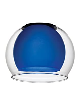 Lithonia DGNG 1007 M6 Decorative Glass In Glass Shade, Blue