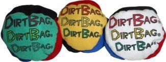 DirtBag 4-Panel Special Footbag/Hacky Sack 3-Pack