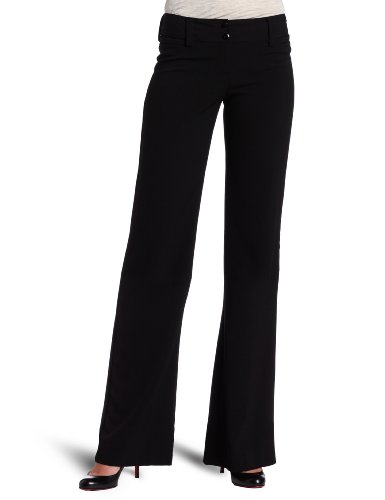 A. Byer Juniors Tropical Cambridge Trouser Pant, Black, 3