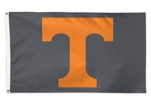 Wincraft University of Tennessee Volunteers Grey 3x5 Flag T Logo