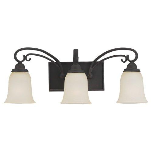 - Sea Gull Lighting Del Prato 44123-820 Three Light Wall/Bath