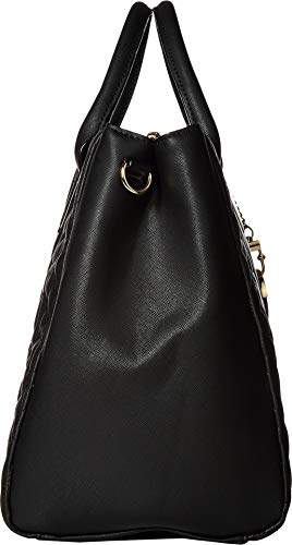 Betsey Johnson Women's Structured Quilt Satchel Black One Size by Betsey Johnson (Image #2)'