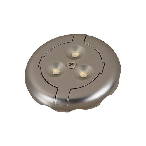 Seagull 98853SW-986 Disk 98853SW-986-Disk Light Kit Pwt, Nckl, B/S, Slvr. 986 Under Cabinet Lights