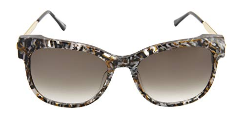 Thierry Lasry Lippy Brown/Gray/Brown Lens Sunglasses (Thierry Lasry)