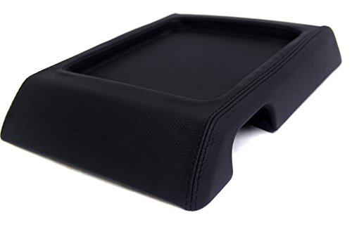 fits-2003-2007-hummer-h2-real-black-leather-console-lid-armrest-cover-skin-only