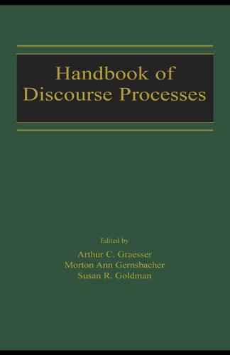 Download Handbook of Discourse Processes Pdf