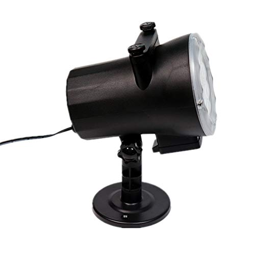 JPOQW Halloween Outdoor Lawn Light Projection Lamp 12 Pattern Landscape Light with Remote -