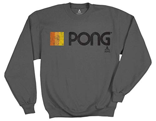 Ripple Junction Atari Adult Unisex Pong Logo Fleece for sale  Delivered anywhere in Canada