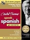 Michel Thomas Speak Spanish Get Started Kit: 2-CD Starter Program