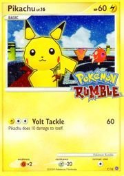 Pokemon - Pikachu (7/16) Rumble (Pokemon Rumble Best Pokemon)
