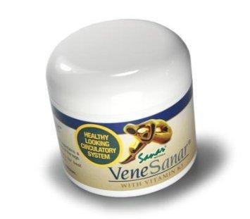 Sanar Naturals Venesanar Bye Bye Spider Vein Cream, Green...