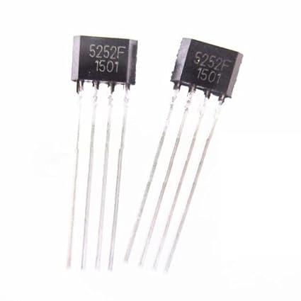 Controlador LED 5252 QX f lámpara solar ic