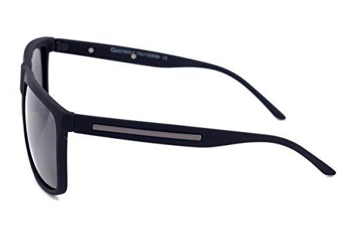 hombre M de sol Negro Negro Gafas Grey para Wolf xRqPfvO6