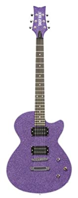 Rock Candy Standar Electric Guitar (Cosmic Purple)