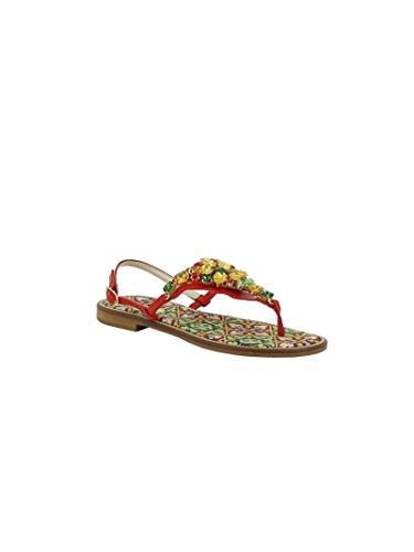 Emanuela Caruso - Sandalias de vestir para mujer multicolor multicolor Multicolor