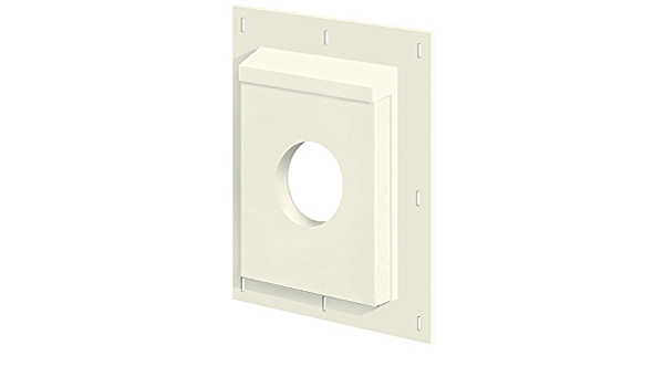 8-1//2 in W X 11 in H Fiber Cement Arctic White Builders Edge SMU811AW4 Sturdimount 3Smu811Tw4 Mounting Block