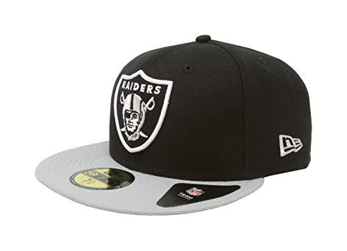 f777b4c62ec Oakland Raiders New Era 59Fifty Hat. NFL Oakland Raiders Black and Team  Color 59Fifty Fitted Cap ...