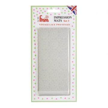 Vintage Lace Impression Mats by FMM Sugarcraft
