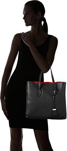 COCCINELLE Celene - Bolso Mujer Negro (Noir/gerbera)
