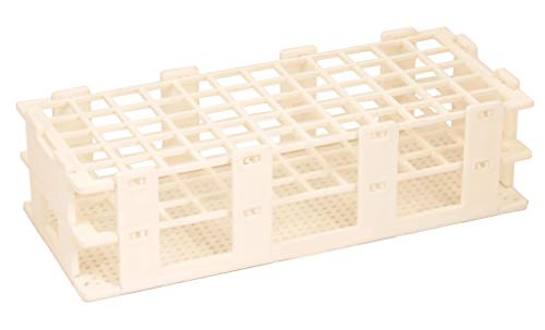 Test Tube Stand, 24 Tubes (25mm), Polypropylene, Autoclavable – Eisco Labs
