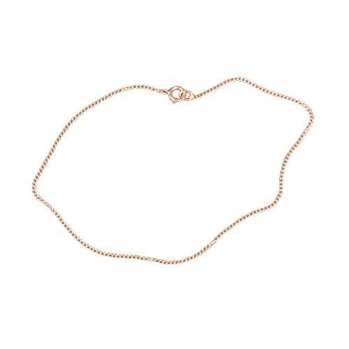 Automic Gold Solid 14k Rose Gold Essential Bracelet, 6