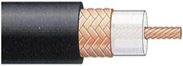 Televes 2155 - Cable coaxial t100 polietileno negro: Amazon ...