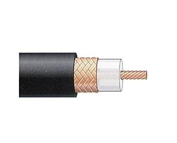 Televes 2155 - Cable coaxial t100 polietileno negro: Amazon.es: Bricolaje y herramientas