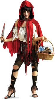 [Lil Dead Riding Hood Costume] (Halloween Little Dead Riding Hood Costume)