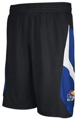 adidas Kansas Jayhawks Youth Black Basketball Shorts