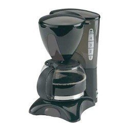 Continental Electric CE23589 4 Cup Coffee Maker-black